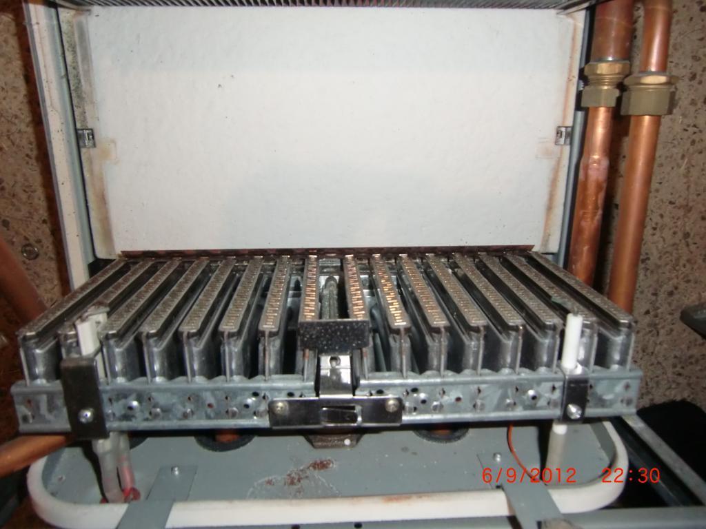 Panne chaudi re panne sur chaudi re acleis n gvm23 1h for Chambre de combustion annulaire