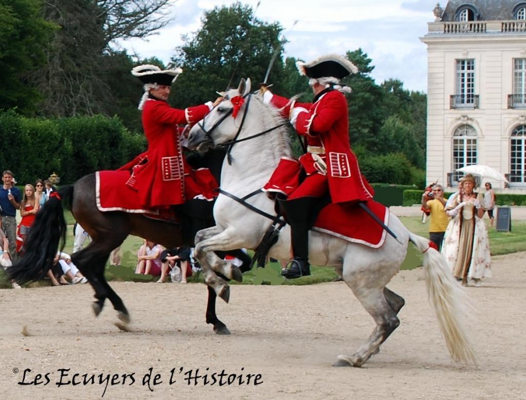 Les cavaliers de la grande arm e reconstitution xviiie for Les mousquetaires du meuble