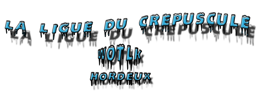 La Ligue Du Crepuscule Index du Forum