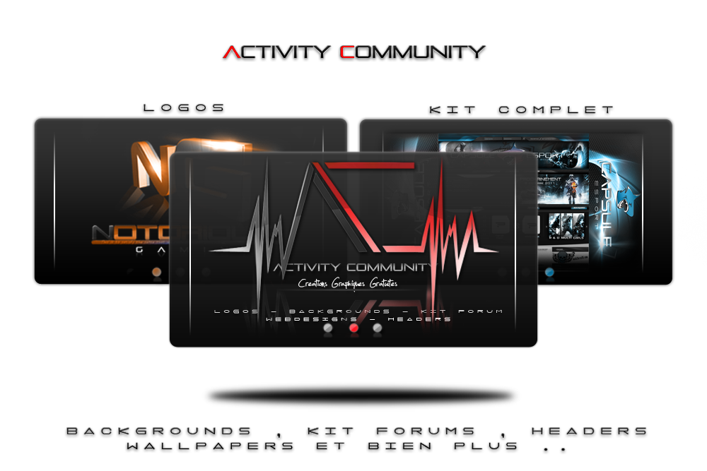 Activity Community Index du Forum