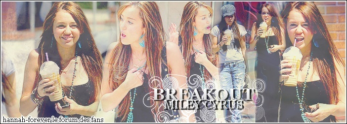 Hannah Montana/ Miley Cyrus Index du Forum