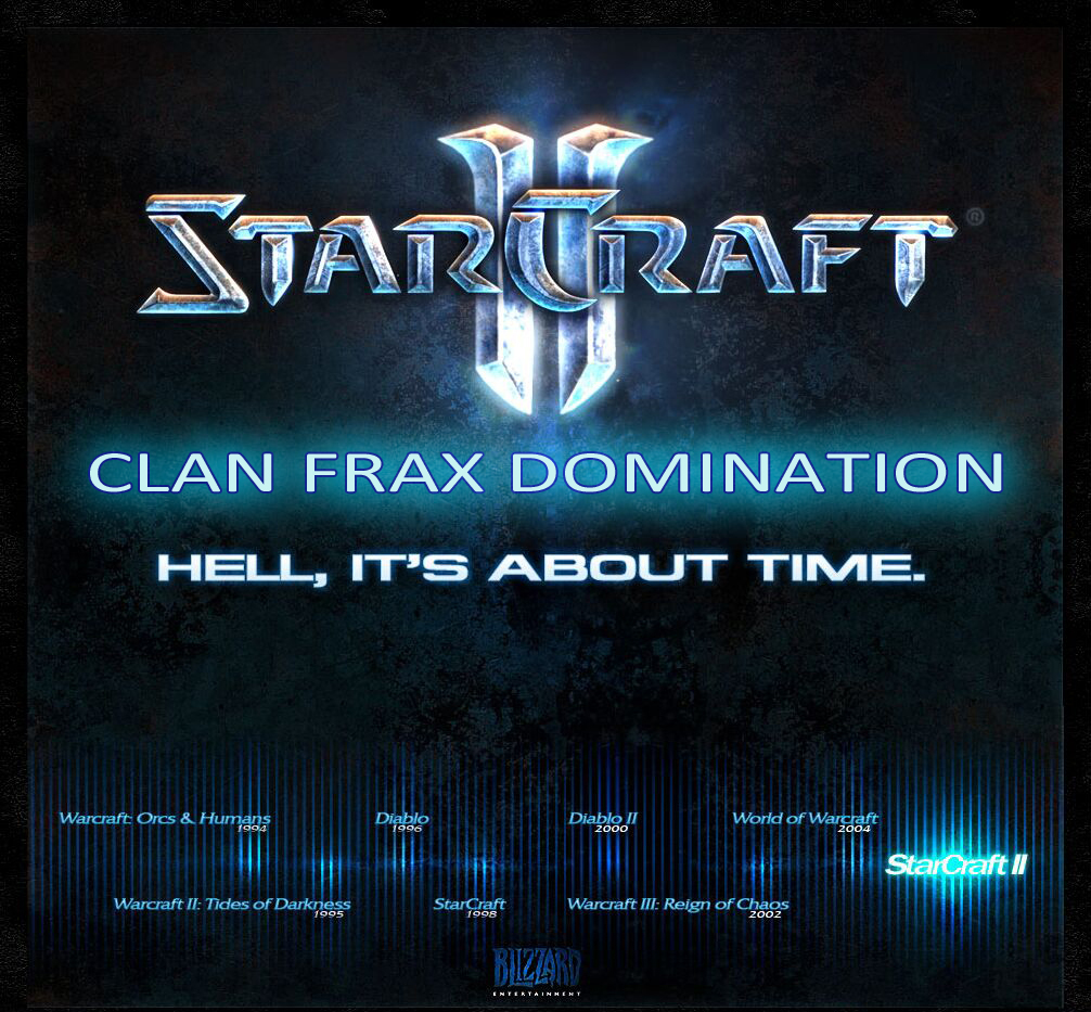 Forum Of Clan FRAX Domination Index du Forum