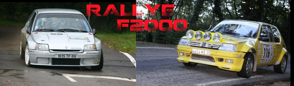 Rallye F2000 Index du Forum