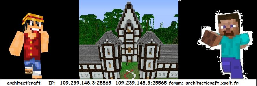 architecticraft Index du Forum