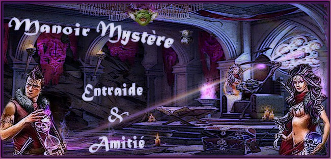 MANOIR MYSTERE Index du Forum
