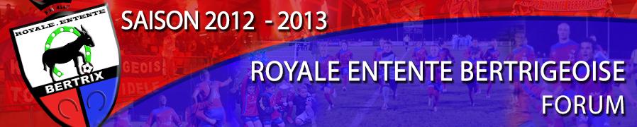 Royale Entente Bertrigeoise Index du Forum
