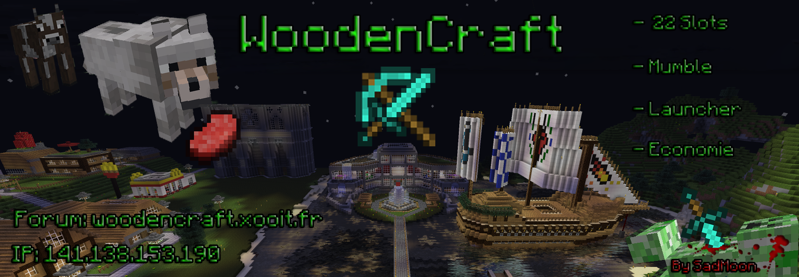 Woodencraft-Minecraft Index du Forum