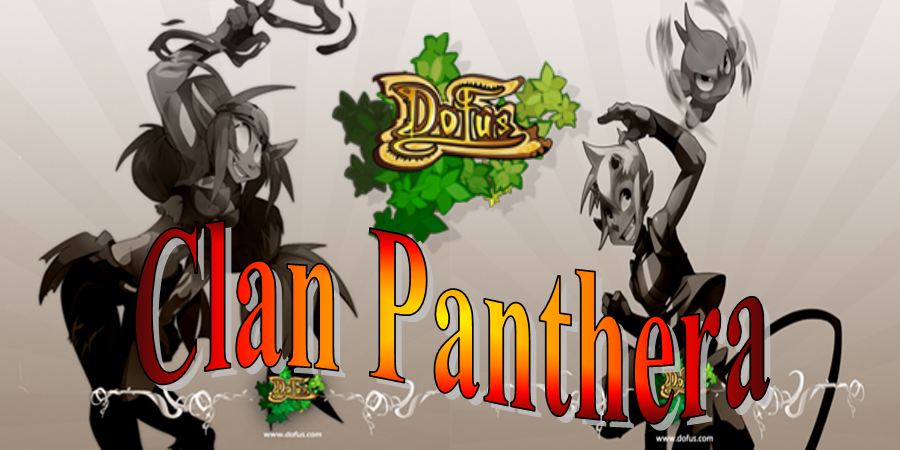"Guilde ""Clan panthera"" Index du Forum"