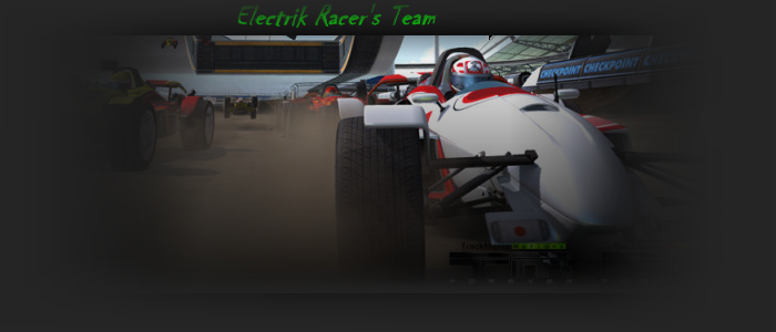 Electrik Racer's Team Index du Forum