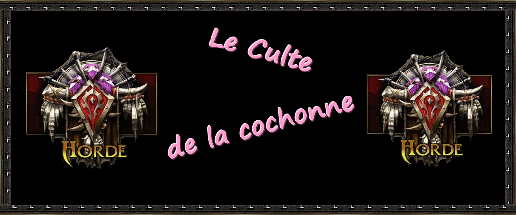 le culte de la cochonne Index du Forum