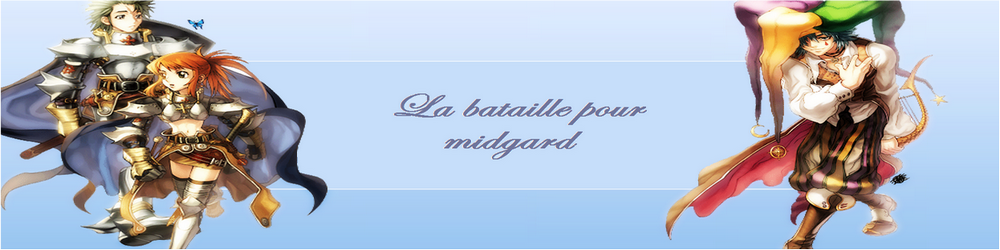 La bataille pour Midgard Index du Forum