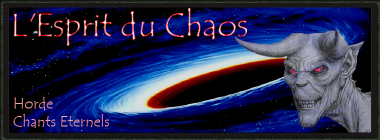 L'ESPRIT DU CHAOS Index du Forum