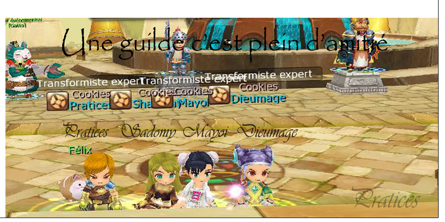 guilde | cookies Forum Index