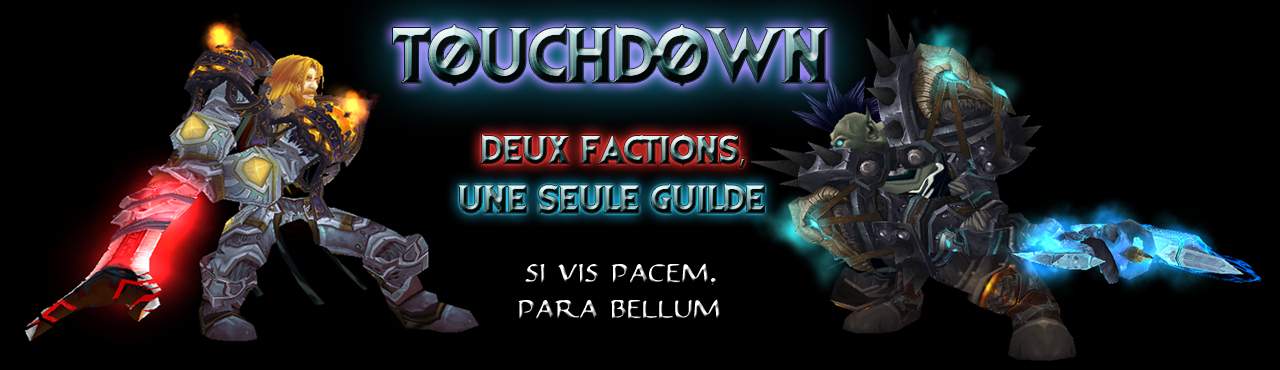< Touchdown > Index du Forum