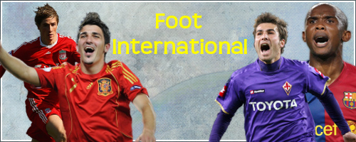 Tout sur le foot international Index du Forum