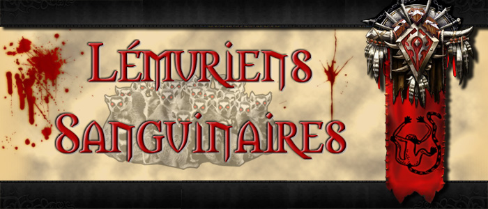lémuriens sanguinaires Index du Forum