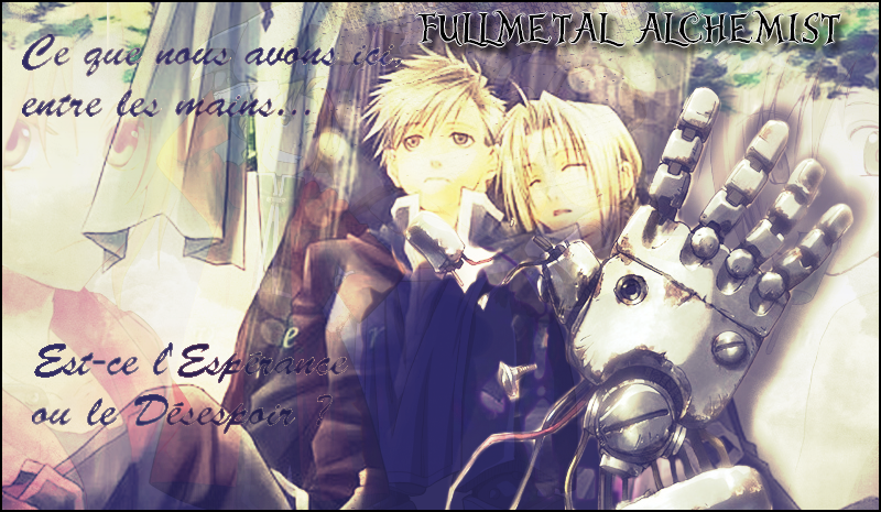 fullmetal alchemist-forum Index du Forum
