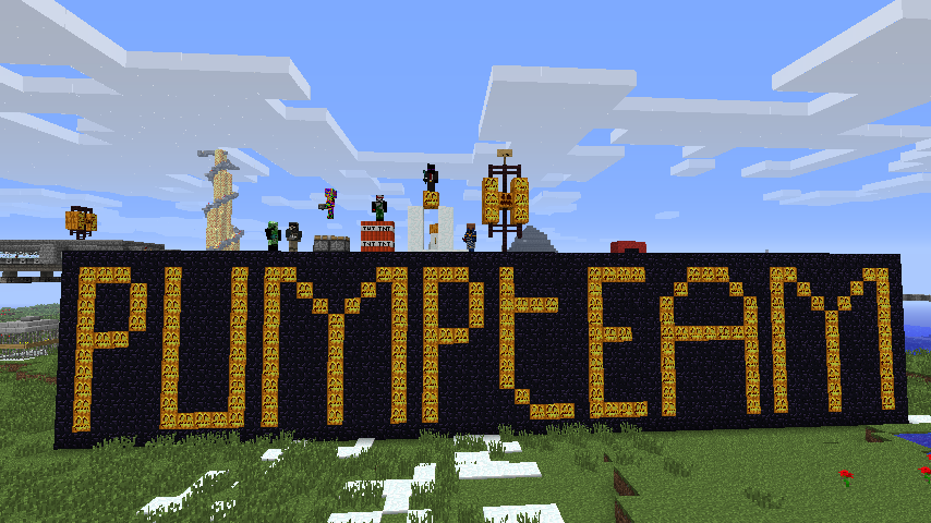 la team pumpteam sur minecraft! Index du Forum