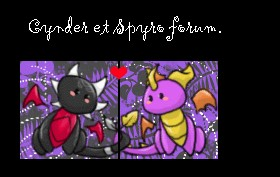 cynder et spyro fans Index du Forum