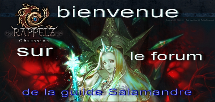 la guilde des  salamandres  Forum Index