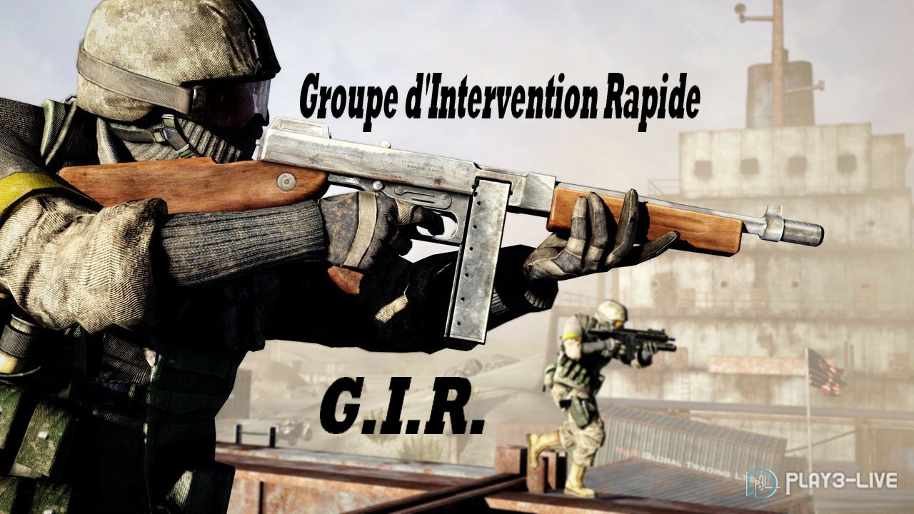 Groupe d'Intervention Rapide [GIR] Forum Index