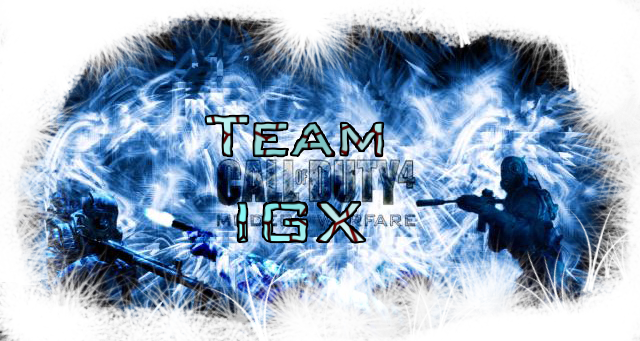 Team IGX cod 4 Index du Forum