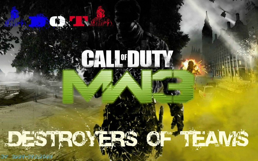 Team DOT Mw3 wii Index du Forum