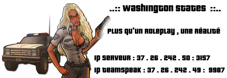 ~ Washington City Role-Play ~ Index du Forum