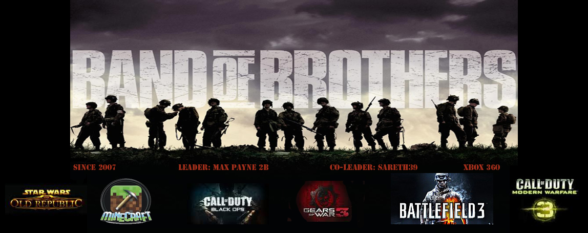 Team Band Of Brothers Index du Forum