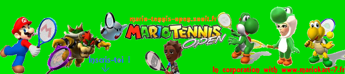 Mario Tennis Open Index du Forum