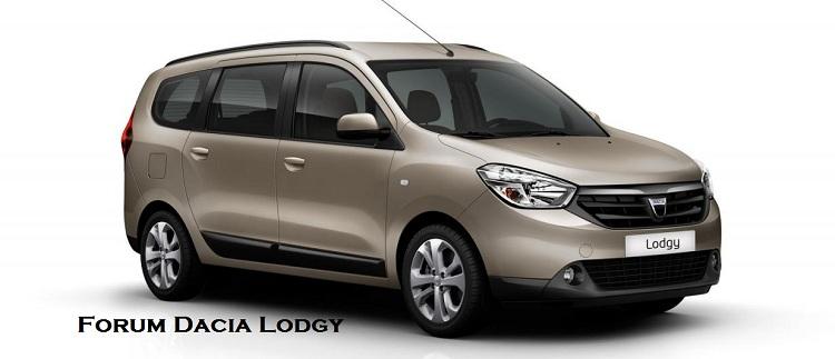 Forum Dacia Lodgy Index du Forum