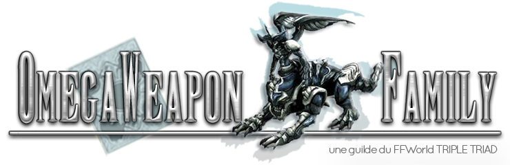 OmegaWeapon Family Index du Forum