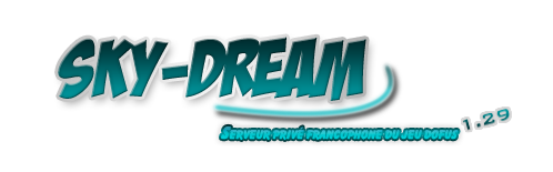 sky-dream serveur privés Index du Forum