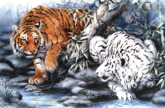 la guerre des tigres devener un tigre combatter vos ennemi defender votre clans ... Index du Forum