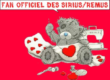 Fan officiel des Sirius/Remus <3