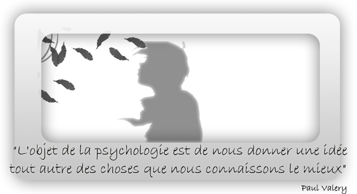 Psychologie mon amour ! Index du Forum