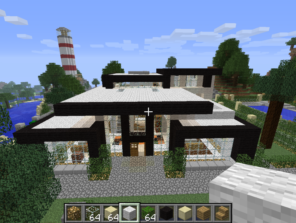 Mhcraft demande de ville de maxx for Belle maison minecraft