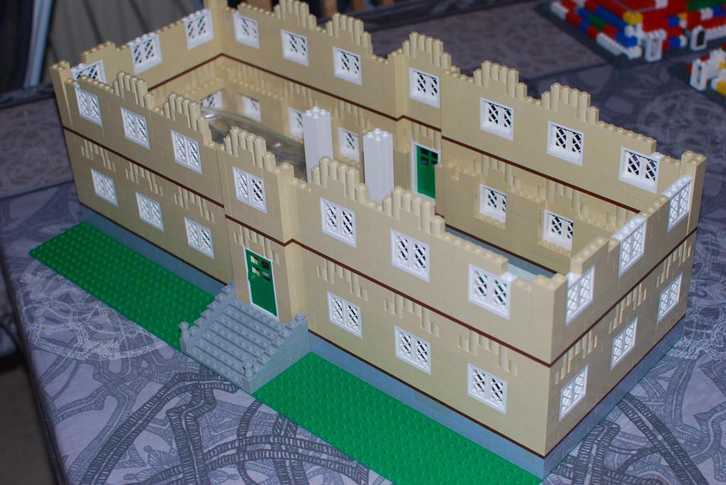 Le forum tintin ch teau de moulinsart en lego - Le chateau de moulinsart ...