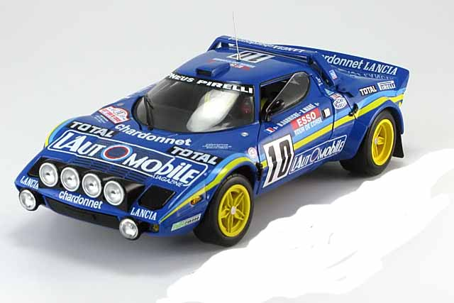 lancia stratos hf rally 1 18 vainqueur tour de corse darniche mah 1981 sunstar. Black Bedroom Furniture Sets. Home Design Ideas