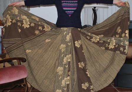patron couture jupe sevillane