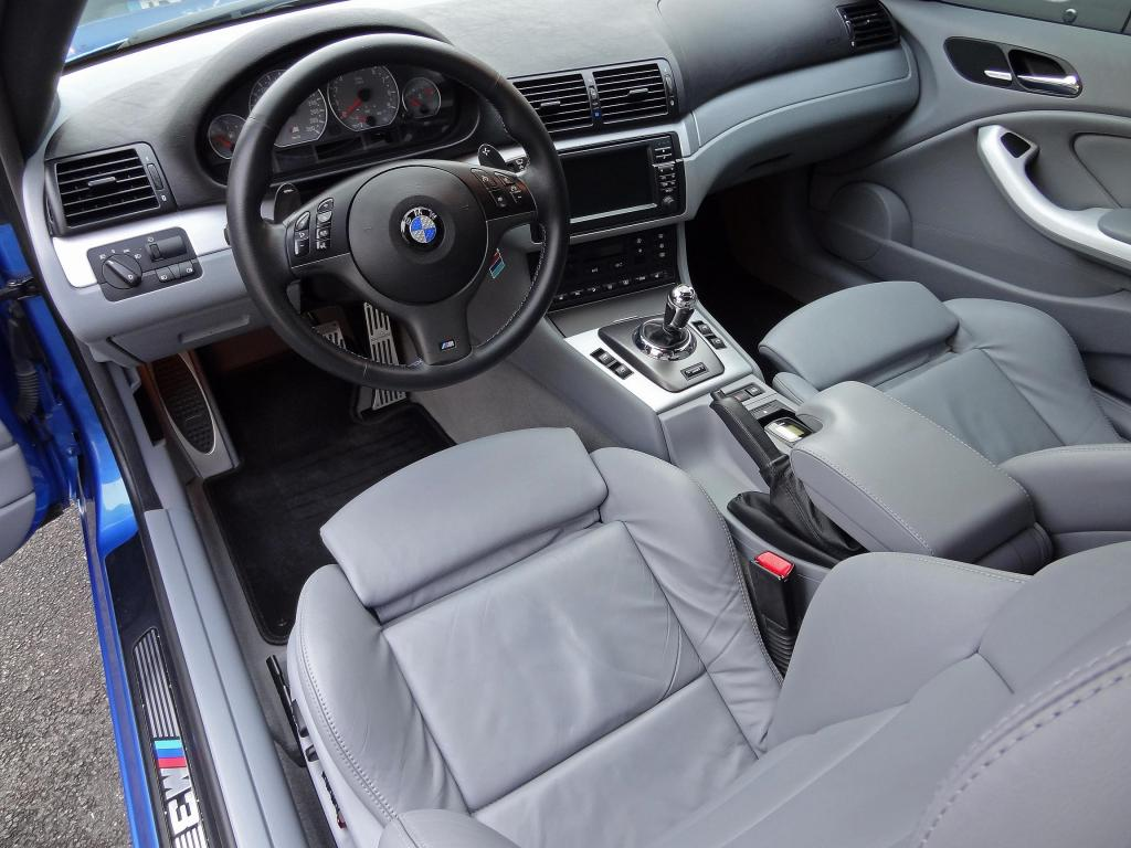 Ma m3 e46 individual bleu estoril bmw serie m for Bmw e46 interieur