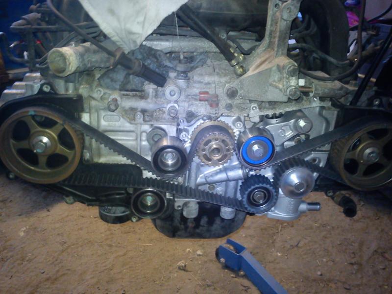 Subaru passion tuto remplacement courroie de for Comparateur garage courroie de distribution