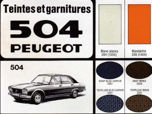 Forum de l'Amicale 504 :: Peinture (carrosserie,roues...)