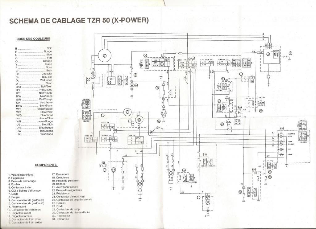 pas d u0026 39 allumage sur tzr 2nd gen - electricit u00e9