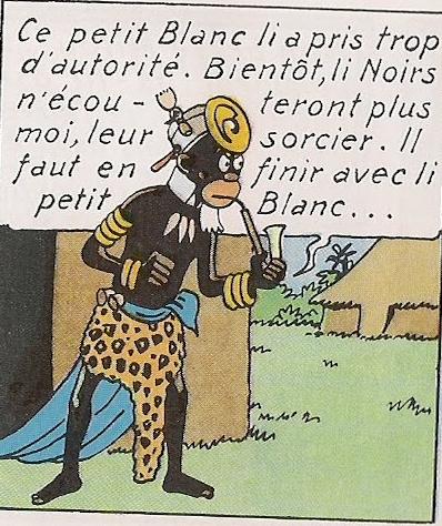 """Résultat de recherche d'images pour """"Tintin au Congo sorcier"""""""