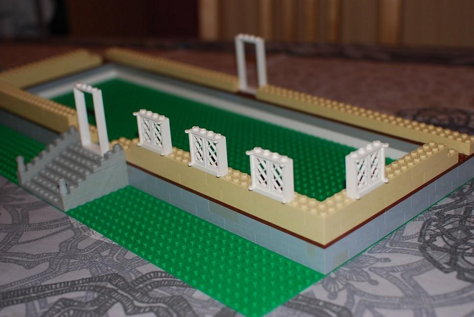 Le forum tintin ch teau de moulinsart en lego for Fenetre lego