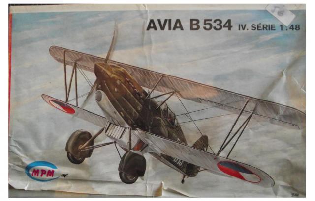 """AVIA B.534 MPM 1/48 VACUFORME MPM """"vintage"""" 1-3ca95ab"""