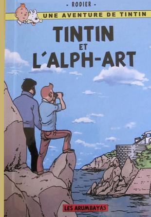 TINTIN RODIER ART TÉLÉCHARGER ALPH