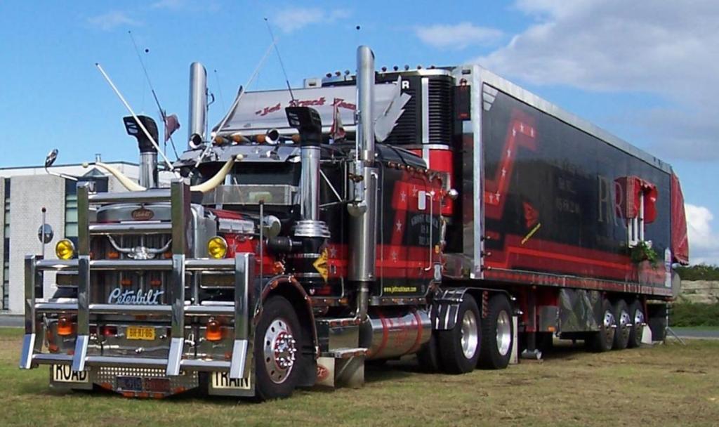 F d ration des transports routiers virtuels les camions for Camion americain interieur