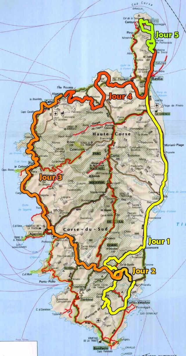 Alliance 4x4 Fr Tour De Corse 4x4